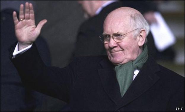 Celtic chairman Dr John Reid