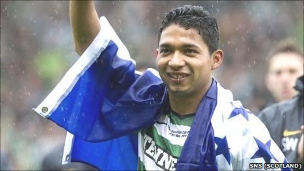 Celtic and Honduras defender Emilio Izaguirre