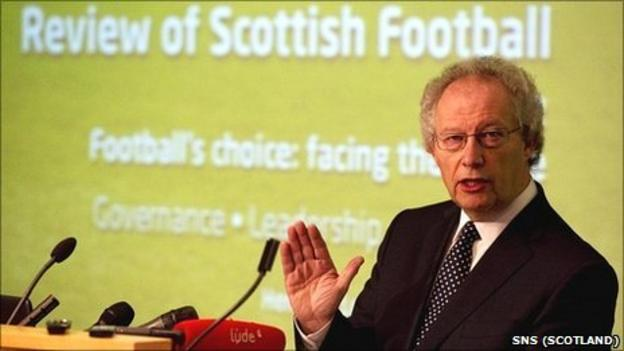 Former First Minister Henry McLeish presents his review of Scottish football