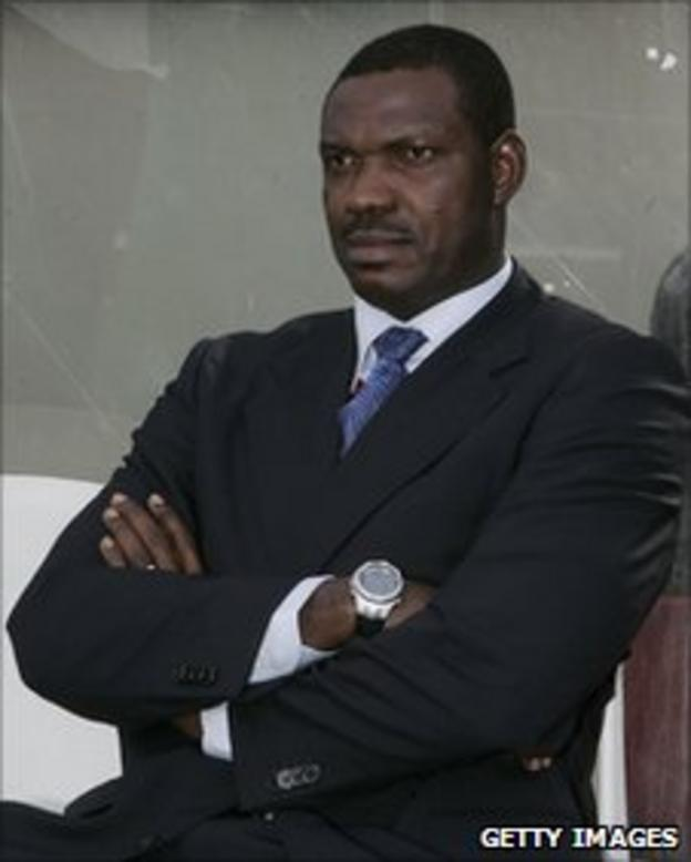 Nigeria Olympic coach Austin Eguavoen