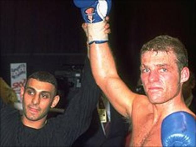 Naseem Hamed and Ryan Rhodes