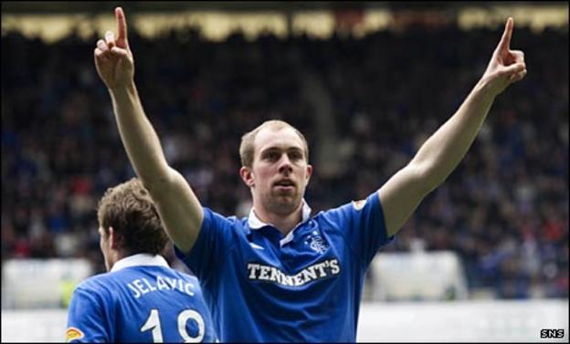 Rangers defender Steven Whittaker