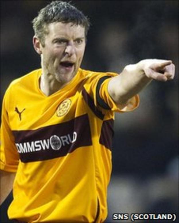 Motherwell skipper Stephen Craigan
