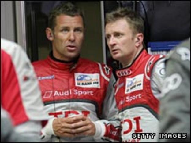 Tom Kristensen and Allan McNish talk tactics ahead of Le Mans