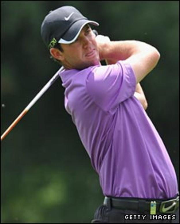 Scott Jamieson in action at the Italian Open