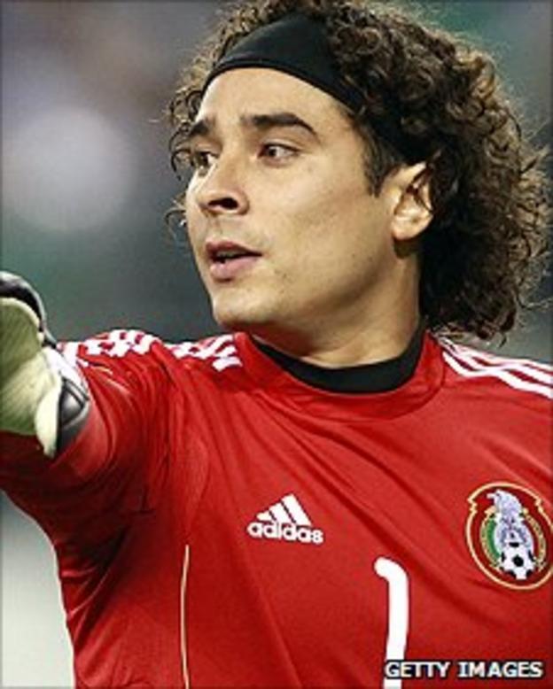 Mexico goalkeeper Guillermo Ochoa