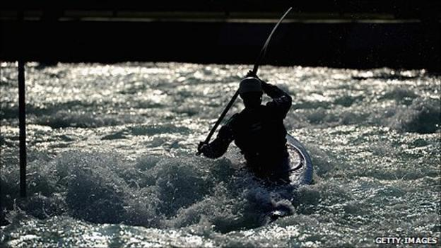 The Adventure Show will feature some thrilling white-water action