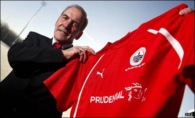 Stirling manager Jocky Scott