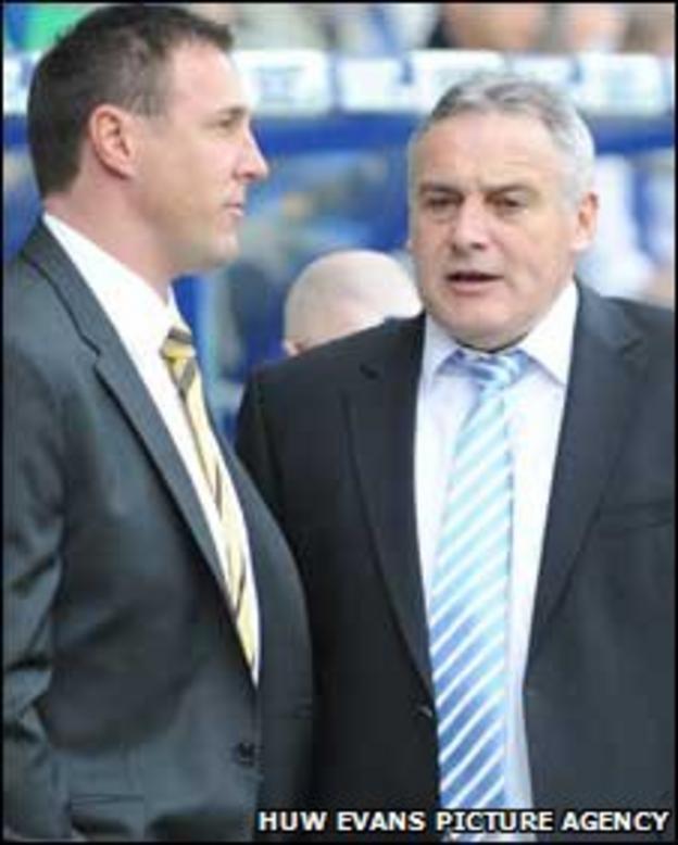 Malky Mackay and Dave Jones