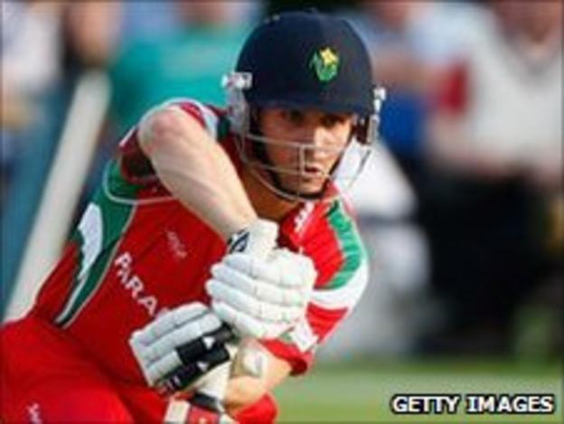 Mark Wallace starred for Glamorgan at Old Deer Park