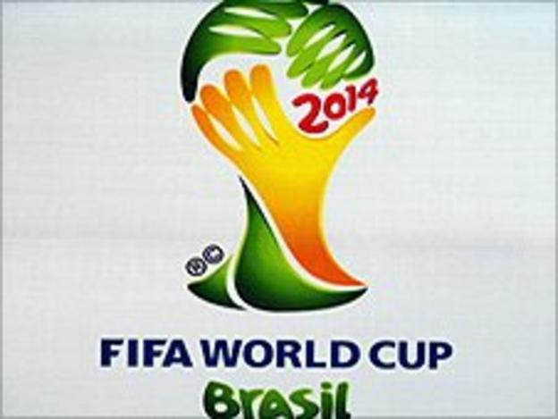 Brazil will host the World Cup in 2014