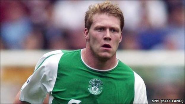 Hibernian striker Garry O'Connor