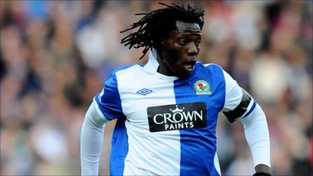Zimbabwe striker Benjani Mwaruwari