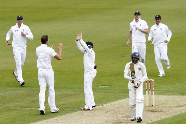 Chris Tremlett celebrates