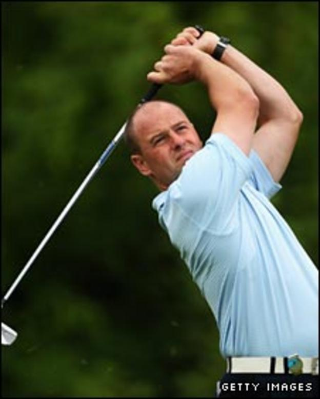 Craig Lee at the St Omer Open