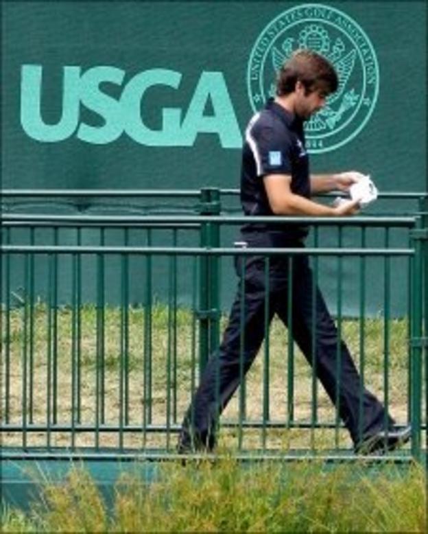 Robert Rock at the US Open
