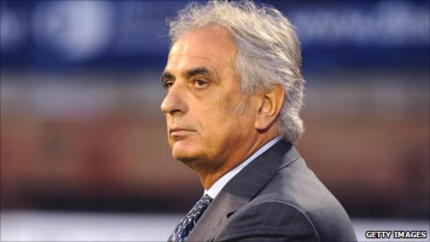 Algeria's new coach Vahid Halilhodzic