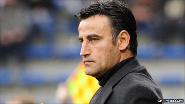 Rwanda under-17 coach Richard Tardy