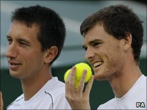 Sergiy Stakhovsky and Jamie Murray