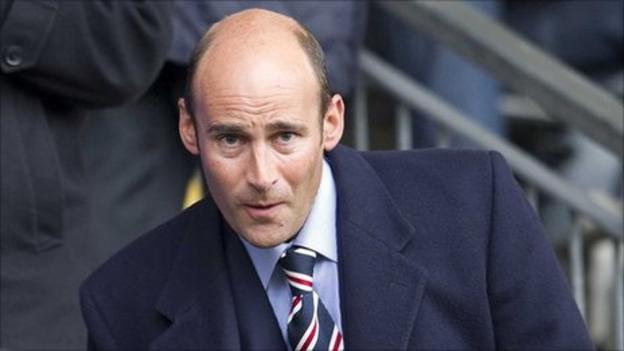 Martin Bain resigns from Rangers and is suing the club - BBC Sport
