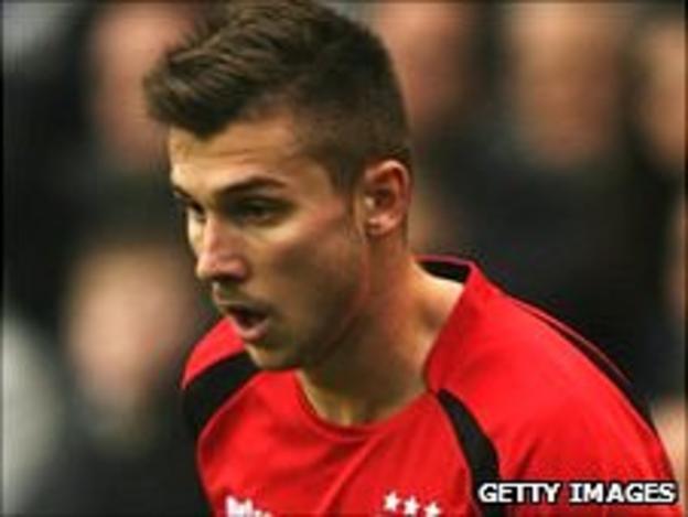 Ipswich striker Tamas Priskin
