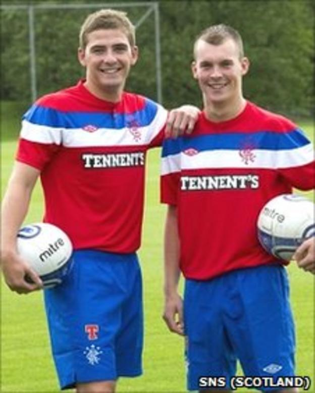 Kyle Hutton and Gregg Wylde