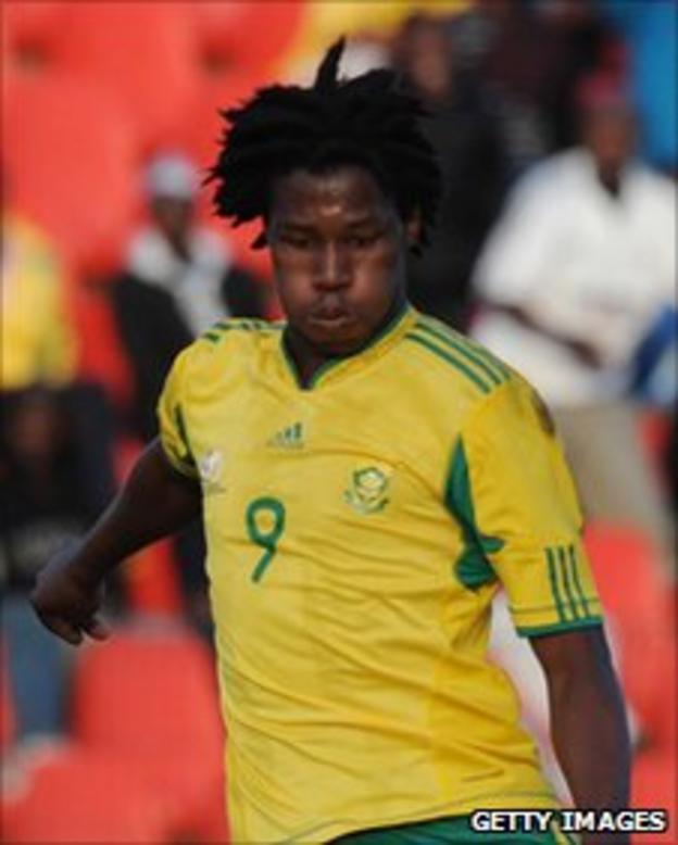 Bongani Ndulula of South Africa