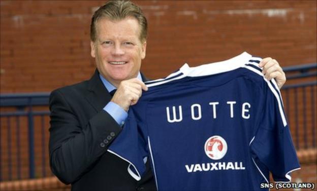 The Scottish Football Association's new performance director Mark Wotte