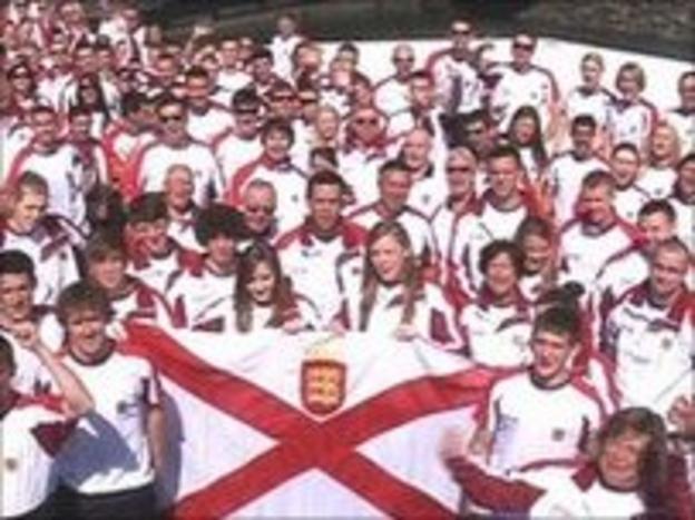 Jersey's Island Games Team