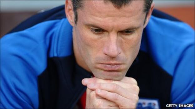 Jamie Carragher at the 2010 World Cup in South Africa