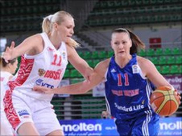 Kim Butler and Maria Stepanova