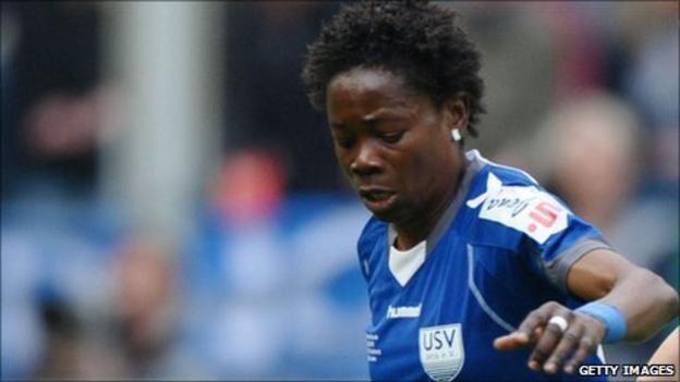 Equatorial Guinea captain Genoveva Anonma