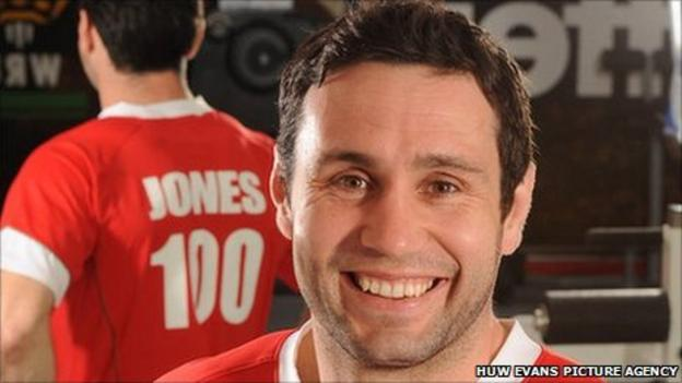 Steohen Jones has made 100 Wales appearances