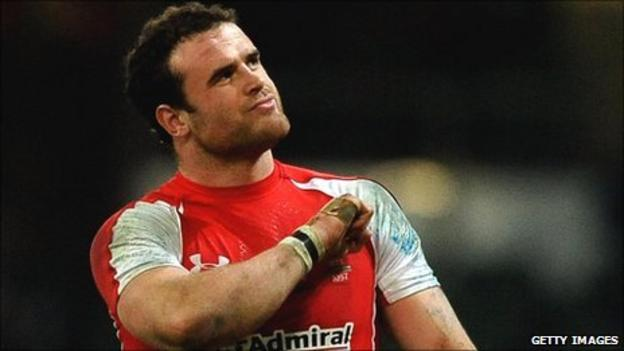 Wales and Lions centre Jamie Roberts