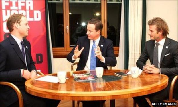 England's World Cup bid failed despite calling on the likes of Prince William, prime minister David Cameron David Beckham
