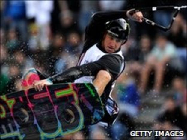 Wakeboarder Shawn Watson