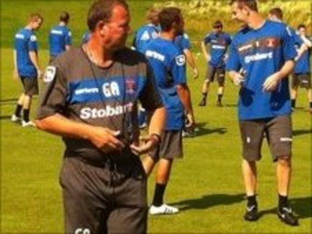 Carlisle United players return for pre-season training