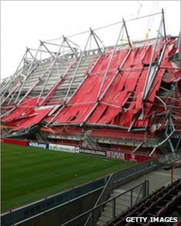 FC Twente's stadium in Enschede