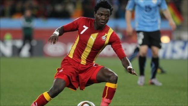 Ghana captain Samuel Inkoom