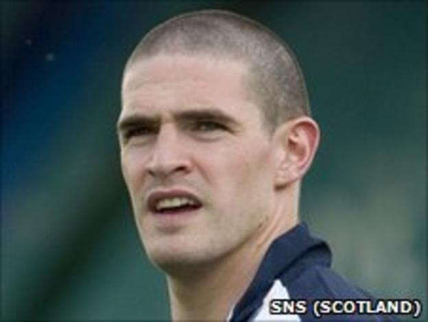 Rangers foward Kyle Lafferty
