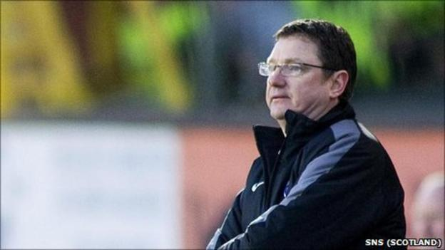 Former Ross County manager Willie McStay