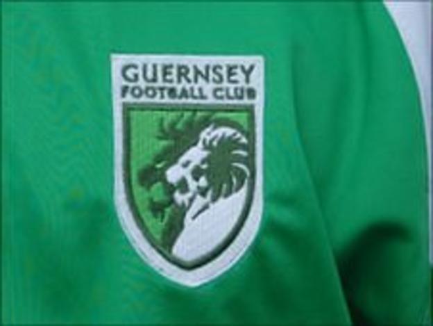 Guernsey FC kit