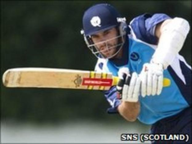 Scotland's Kyle Coetzer