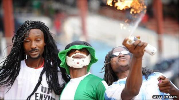 Enyimba fans in 2011