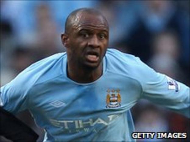 Manchester City's Patrick Vieira