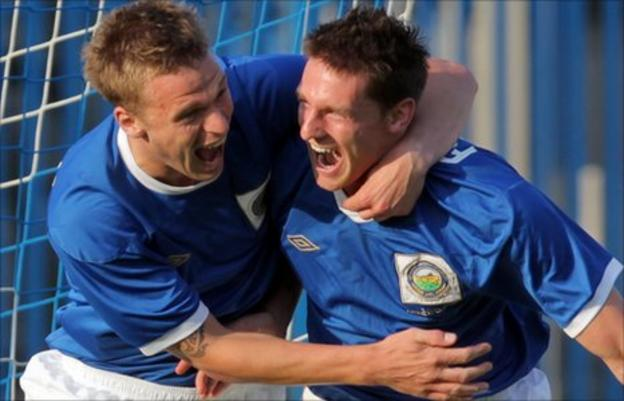 Peter Thompson and Daryl Fordyce