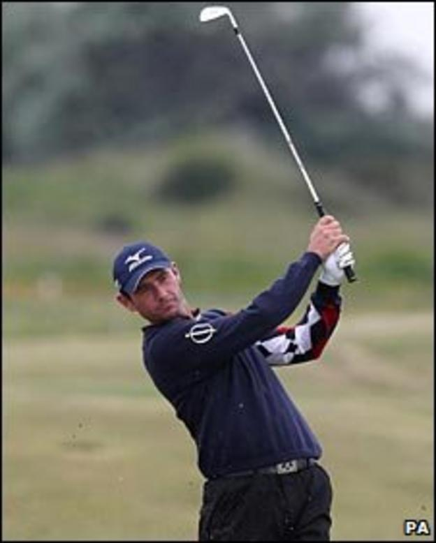 Peter Whiteford at Royal St George's