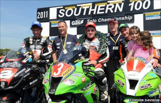 Michael Dunlop was crowned Southern 100 champion