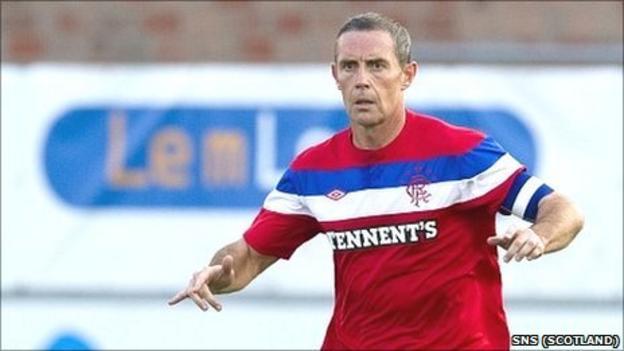 Rangers captain David Weir