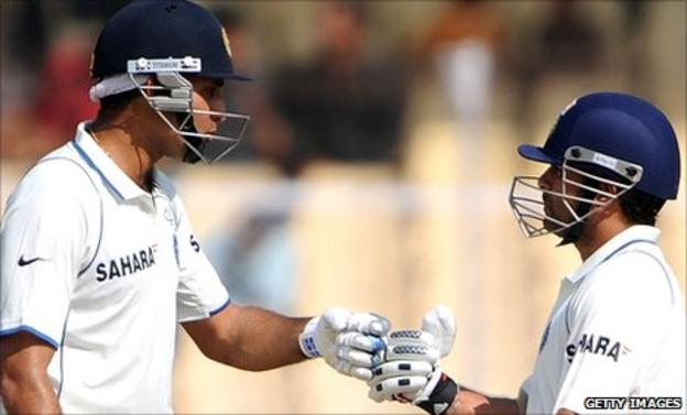 VVS Laxman and Sachin Tendulkar